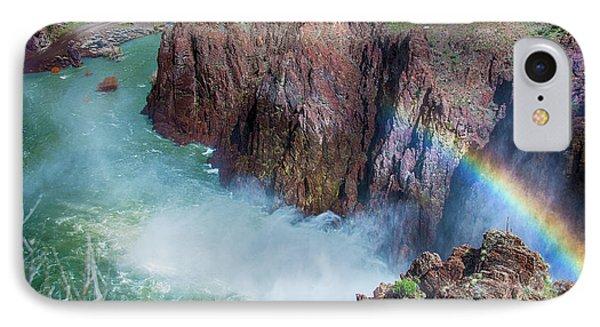 10883 Rainbow Over Owyhee IPhone Case