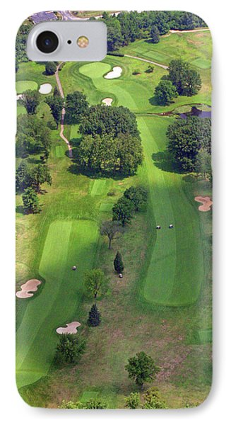 10th Hole 2 Sunnybrook Golf Club 398 Stenton Avenue Plymouth Meeting Pa 19462 1243 IPhone Case by Duncan Pearson