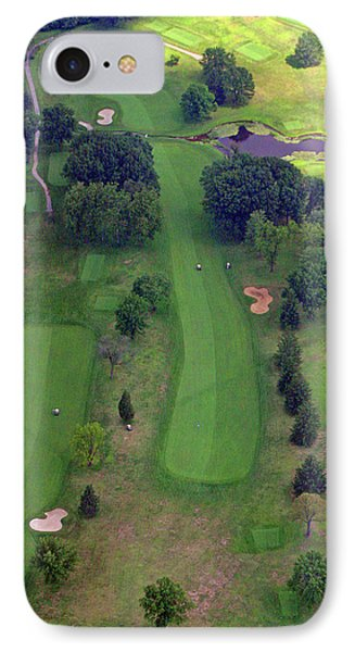 10th Hole Sunnybrook Golf Club 2 IPhone Case by Duncan Pearson