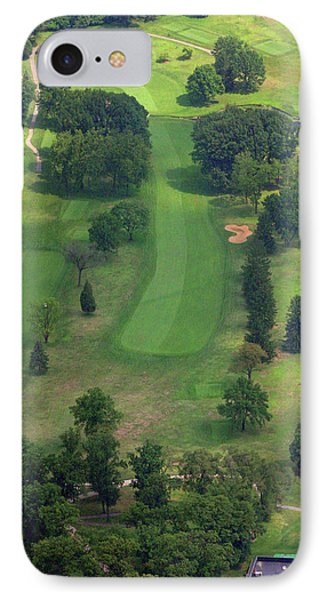 10th Hole Sunnybrook Golf Club 398 Stenton Avenue Plymouth Meeting Pa 19462 1243 IPhone Case by Duncan Pearson
