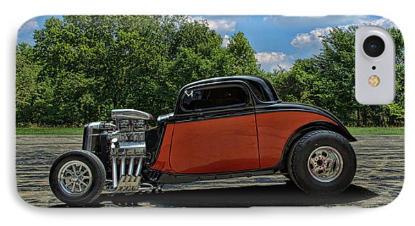 IPhone Case featuring the photograph 1934 Ford Coupe Hot Rod by Tim McCullough