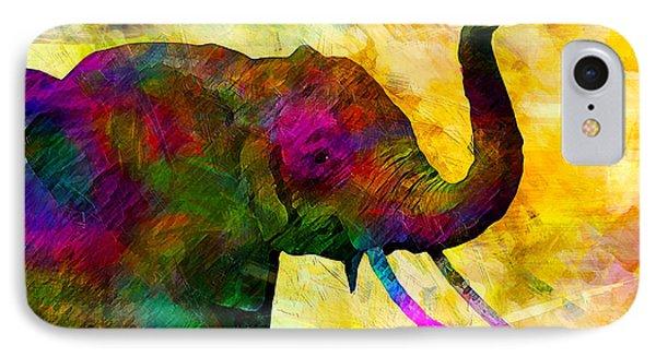 Elephant Phone Case by Elena Kosvincheva