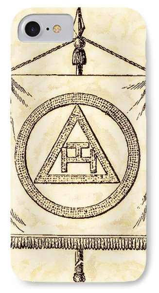 Freemason Symbolism By Pierre Blanchard IPhone Case
