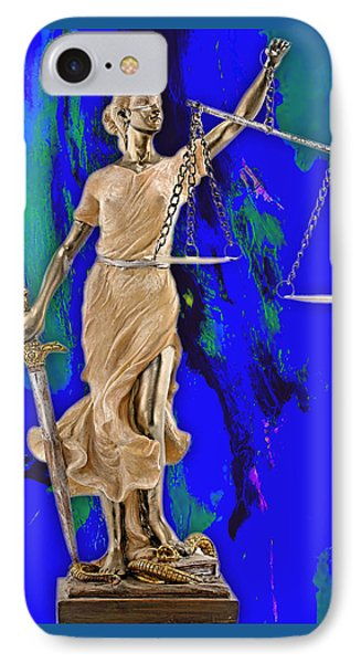 Law Office Collection IPhone Case by Marvin Blaine