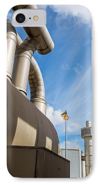 Pipes At Nesjavellir Geothermal Power IPhone Case by Panoramic Images