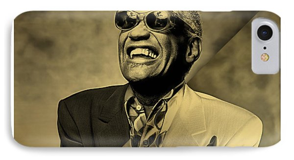 Ray Charles Collection IPhone Case by Marvin Blaine