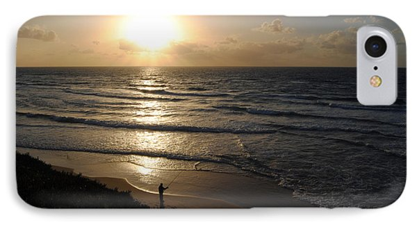 Sunset At Jaffa Beach 5 IPhone Case by Isam Awad
