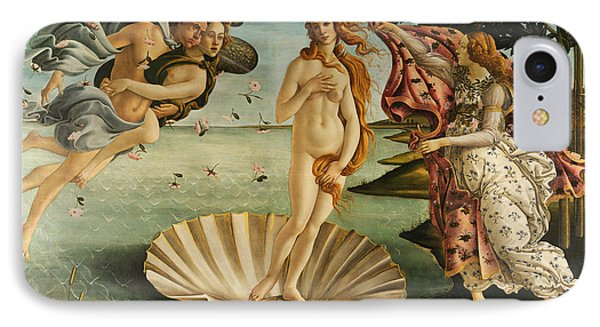 The Birth Of Venus IPhone Case by Sandro Botticelli