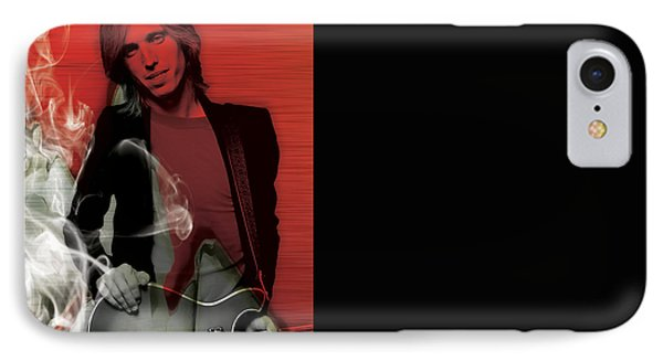 Tom Petty Collection IPhone Case by Marvin Blaine