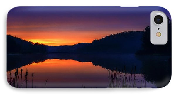 IPhone Case featuring the photograph Winter Dawn by Thomas R Fletcher
