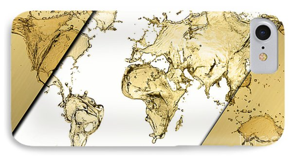 World Map Collection IPhone Case by Marvin Blaine