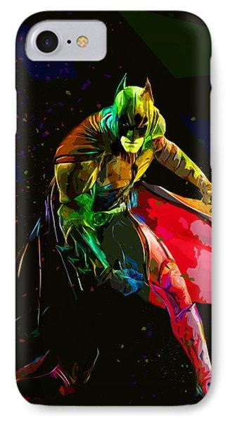 Batman Phone Case by Elena Kosvincheva