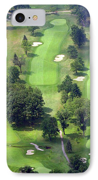 11th Hole Sunnybrook Golf Club 398 Stenton Avenue Plymouth Meeting Pa 19462 1243 IPhone Case by Duncan Pearson