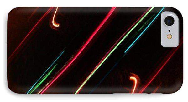 Abstract Motion Lights IPhone Case