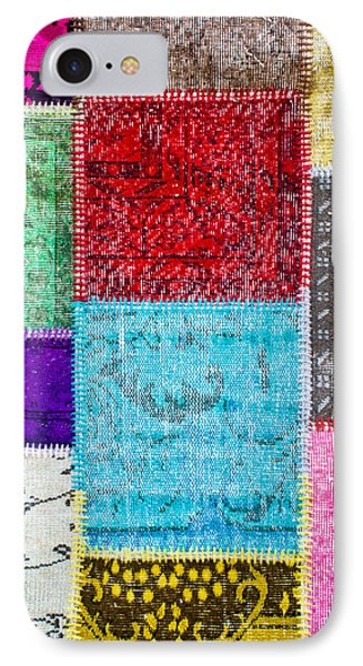 Colorful Textile IPhone Case by Tom Gowanlock