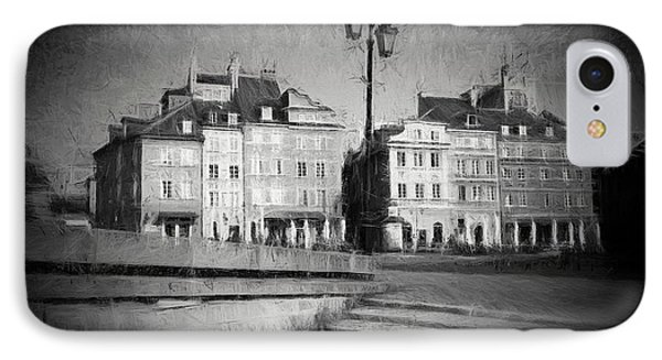 Old Town In Warsaw IPhone Case by Artur Bogacki