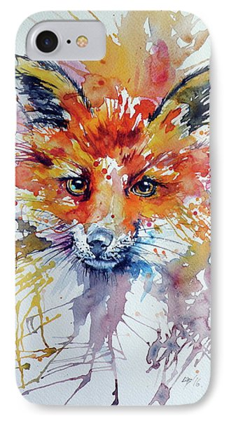 Red Fox IPhone Case by Kovacs Anna Brigitta