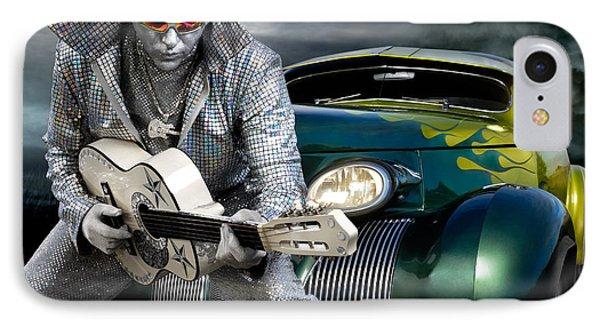 Silver Elvis Phone Case by Oleksiy Maksymenko