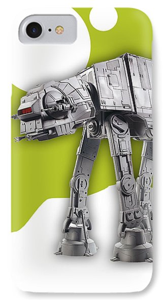 Star Wars At-at Collection IPhone Case by Marvin Blaine