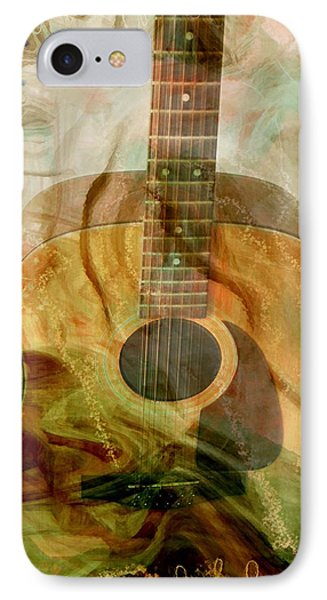 12 String Phone Case by Linda Sannuti