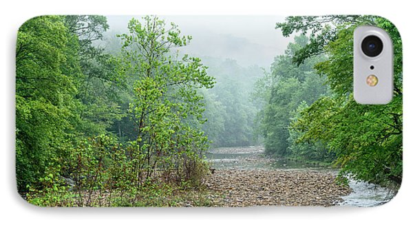 IPhone Case featuring the photograph Williams River Summer Mist by Thomas R Fletcher