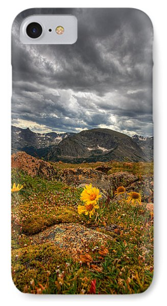 12000 Foot Flower Phone Case by Peter Tellone