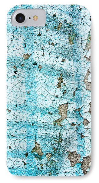 Blue Metal IPhone Case by Tom Gowanlock