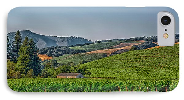 California Vineyard IPhone Case by Mountain Dreams