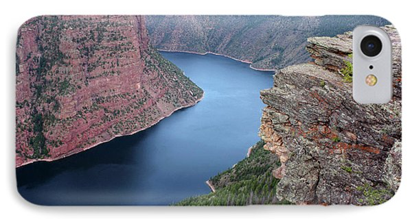 Flaming Gorge National Park IPhone Case by Ellen Tully
