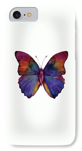 13 Narcissus Butterfly IPhone Case by Amy Kirkpatrick