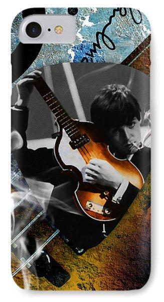 Paul Mccartney Art IPhone Case