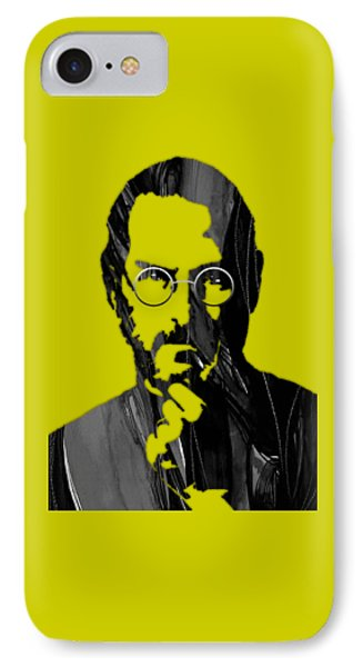 Steve Jobs Collection IPhone Case by Marvin Blaine
