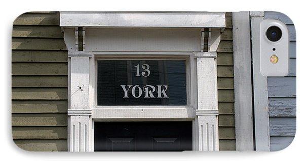 13 York Street IPhone Case by Douglas Pike