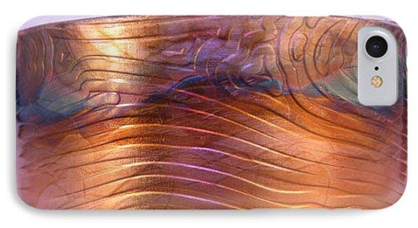 1343 Woodgrain Cuff Bracelet IPhone Case