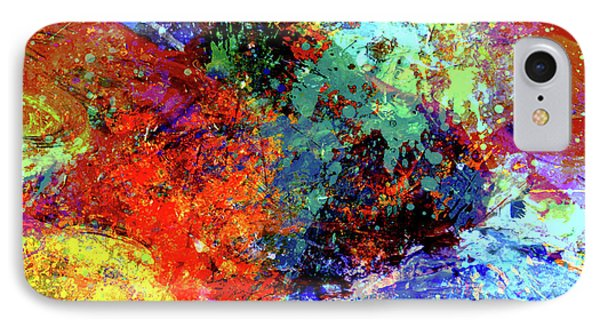Abstract Composition IPhone Case by Samiran Sarkar