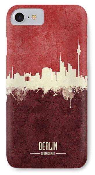 Berlin iPhone 7 Case - Berlin Germany Skyline by Michael Tompsett