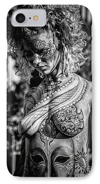 Bodypainting IPhone Case