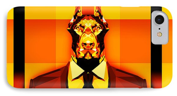 14 Doberman IPhone Case by Gallini Design