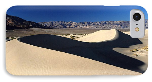 Mesquite Sand Dunes In Death Valley National Park Phone Case by Pierre Leclerc Photography
