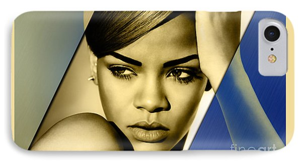 Rihanna Collection IPhone Case by Marvin Blaine