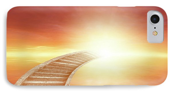 IPhone Case featuring the photograph Stairway To Heaven by Les Cunliffe