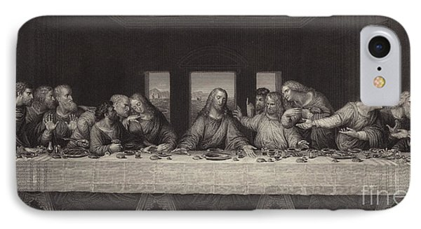 The Last Supper  IPhone Case by Leonardo Da Vinci