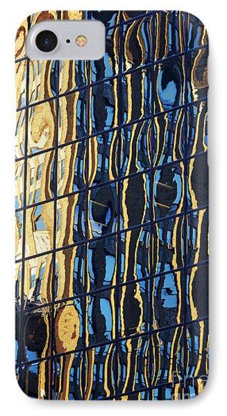 Abstract Reflection IPhone Case by Tony Cordoza