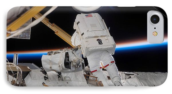 Astronaut Participates Phone Case by Stocktrek Images