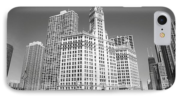 Chicago Skyline IPhone Case by Frank Romeo