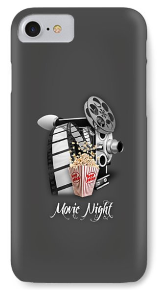Movie Room Decor Collection IPhone Case by Marvin Blaine