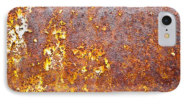 Rusty Metal IPhone Case by Tom Gowanlock