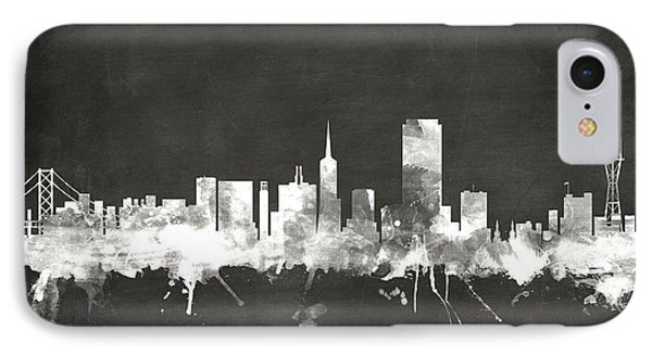 San Francisco City Skyline IPhone Case