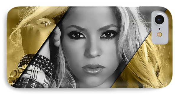 Shakira Collection IPhone 7 Case by Marvin Blaine