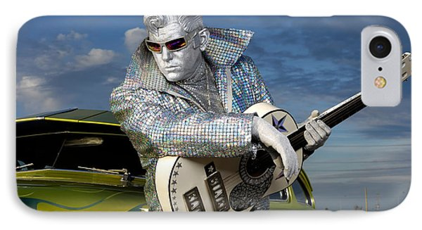 Silver Elvis Phone Case by Oleksiy Maksymenko